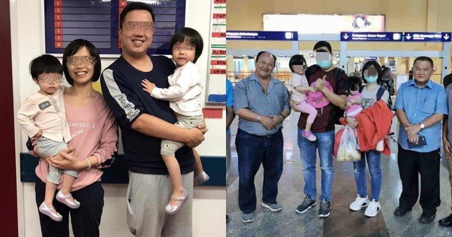 【新冠肺炎】4岁中国女童与家人今早返回广东
