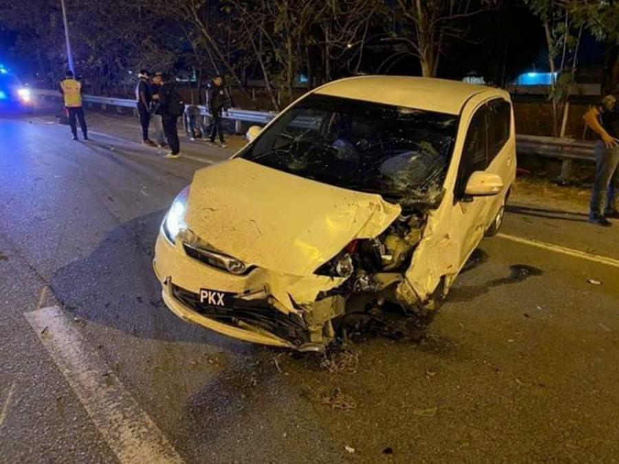 Penang drunk driver crashes car into motorcycle, killing man, injuring woman