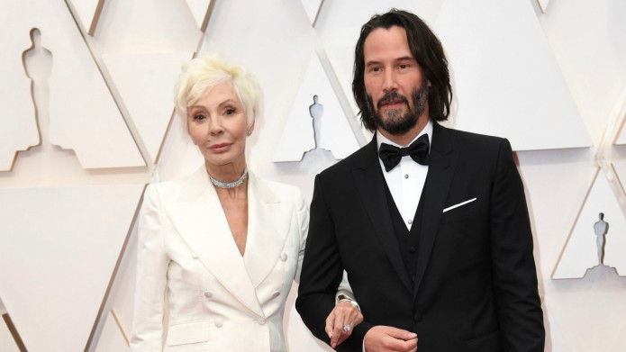 Keanu Reeves Brought His Mother as a Date to the Oscars & We're Swooning