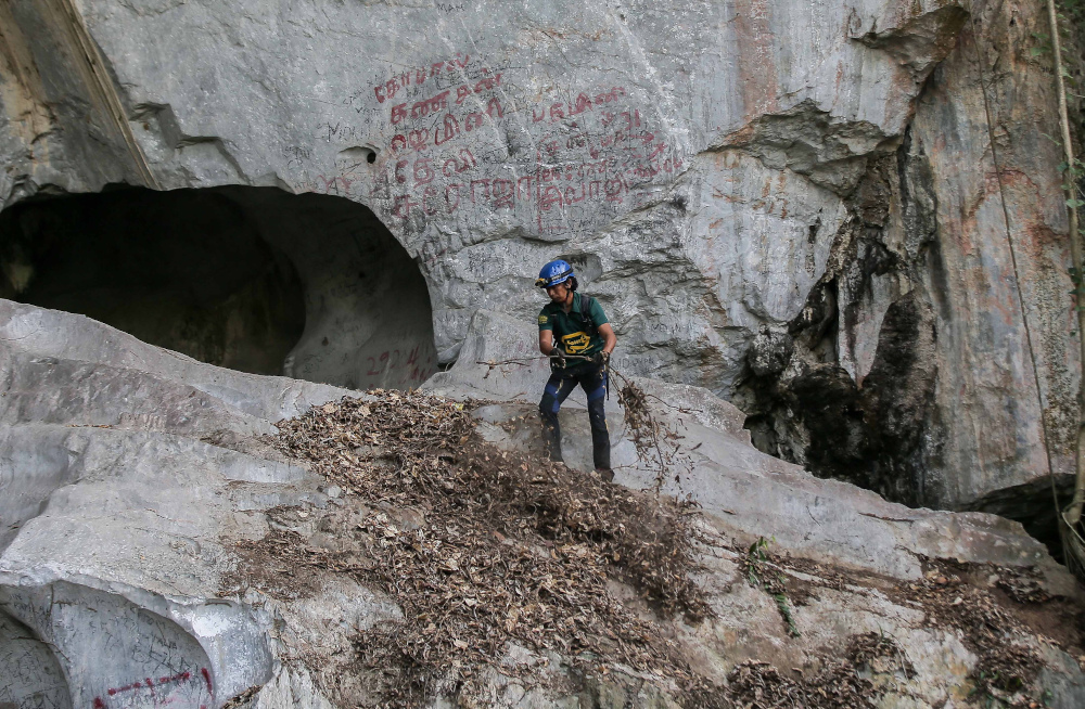Oldest limestone cave in Ipoh at risk of destruction from trespassers, says Perak rep