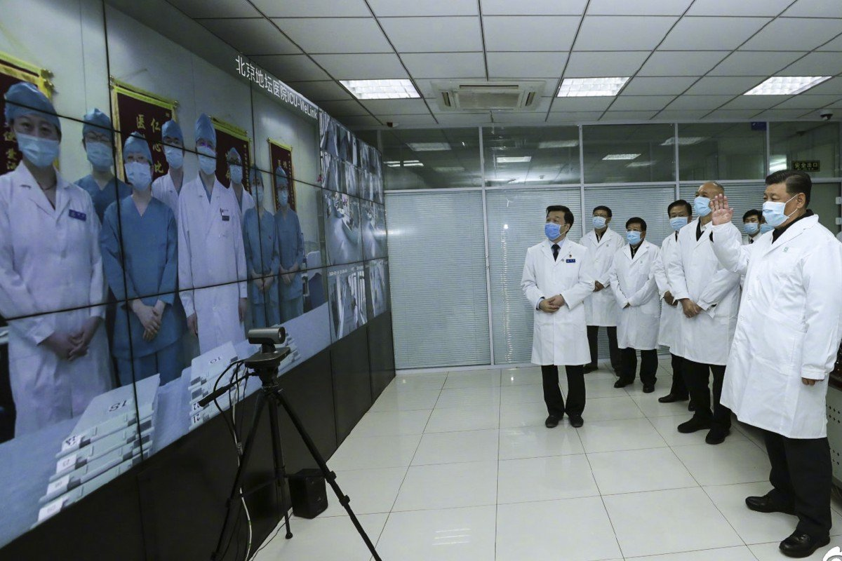 Back in the public eye, masked Xi Jinping warns of 'grim' fight with coronavirus