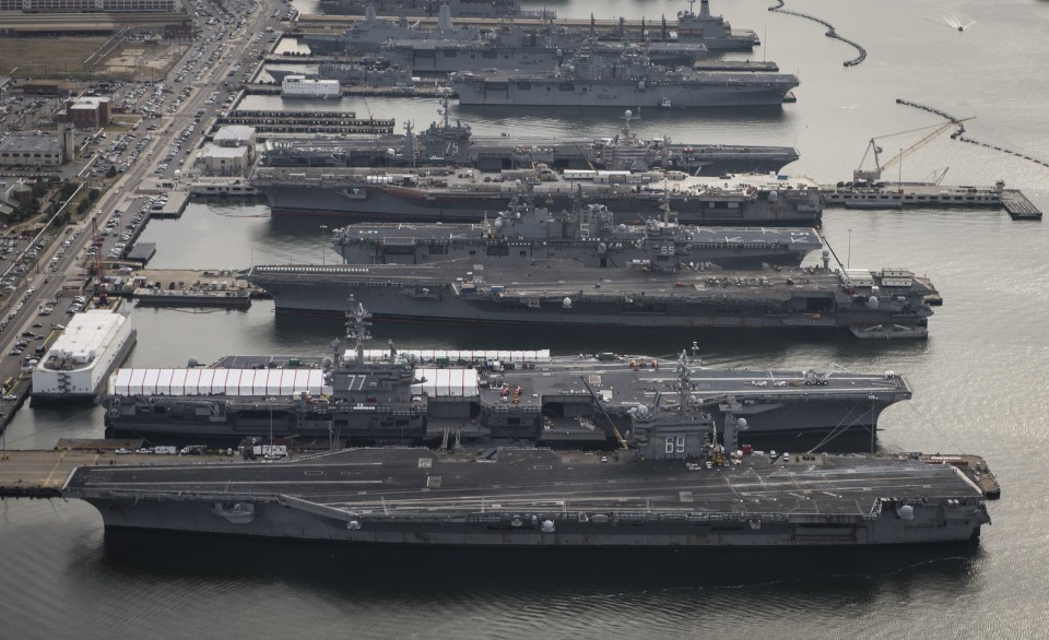 遥想十年后中国海军,或有5个航母编队?美海军连忙调整兵力结构