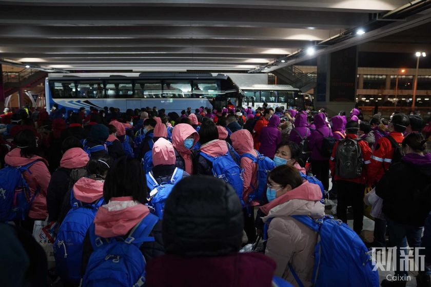 Gallery: Medical Reinforcements Arrive in Wuhan