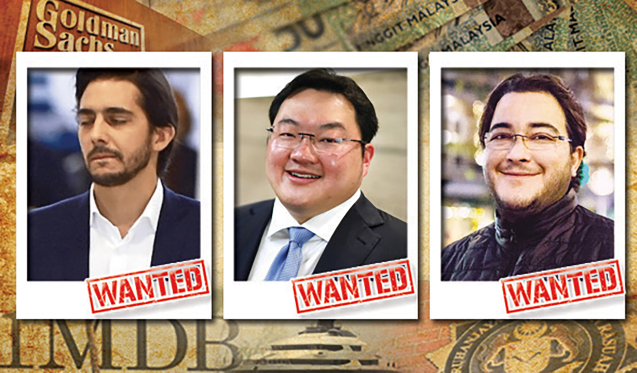 Wanted! — Jho Low, Obaid and Mahony