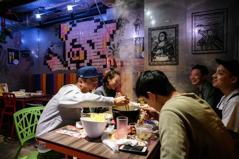 Beloved communal hotpot falls victim to Hong Kong virus fears