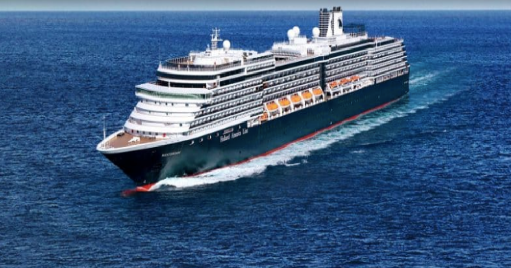Cruise ship docks in Cambodia after being rejected 5 times due to coronavirus fears