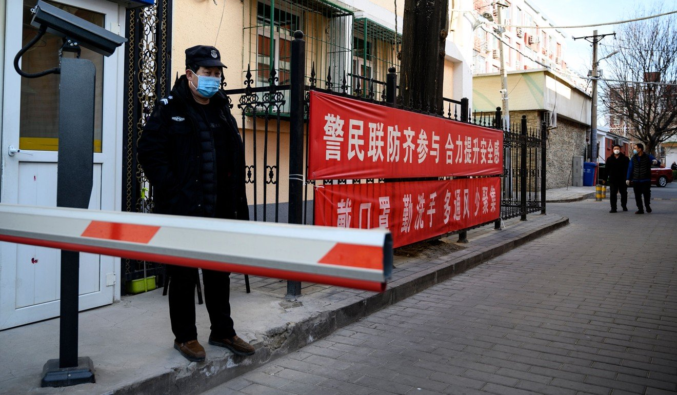 Chinese authorities say coronavirus control at heart of clampdown on 10 broad categories of crime