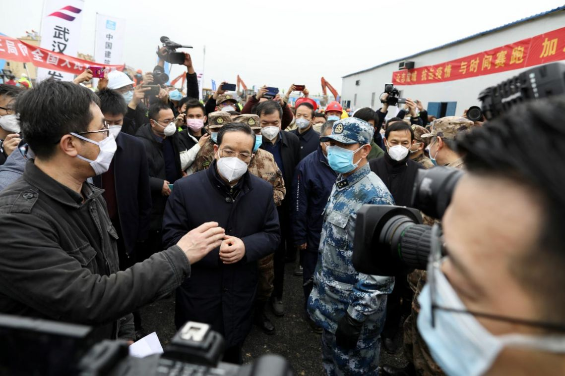 Coronavirus: China sacks Hubei party chief, Xinhua reports