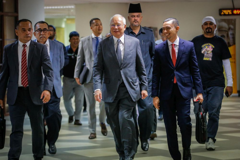 Najib and family's inspection of items seized by MACC postponed on security concerns