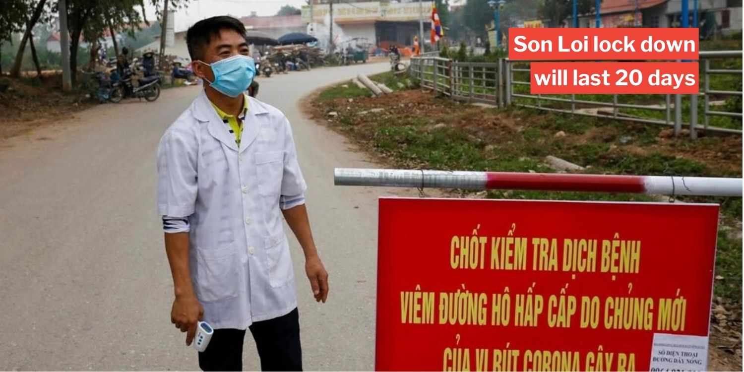 Vietnam quarantines 10,000 people in villages 40km from Hanoi after 6 down with covid-19