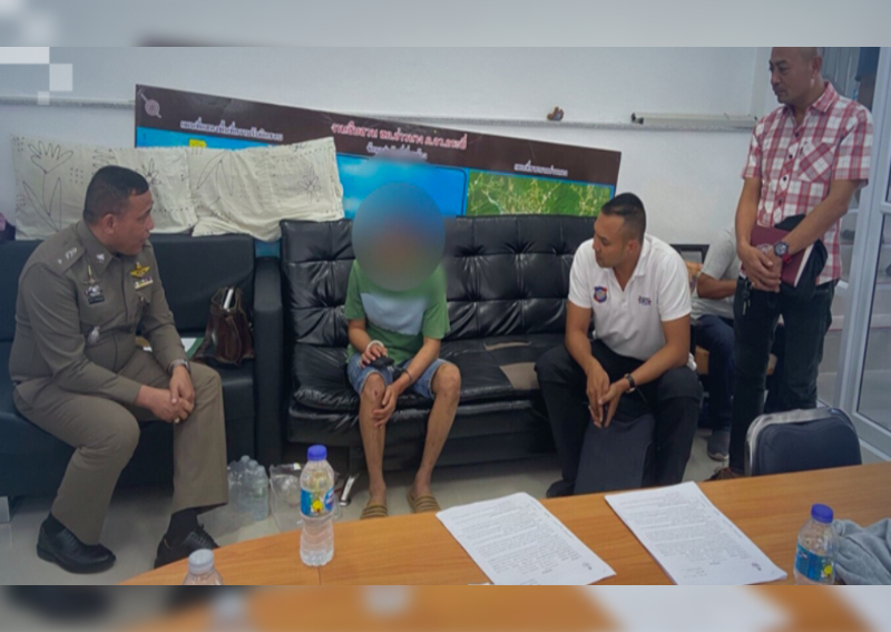 Suspect held in slashing of Norwegian tourist in Krabi