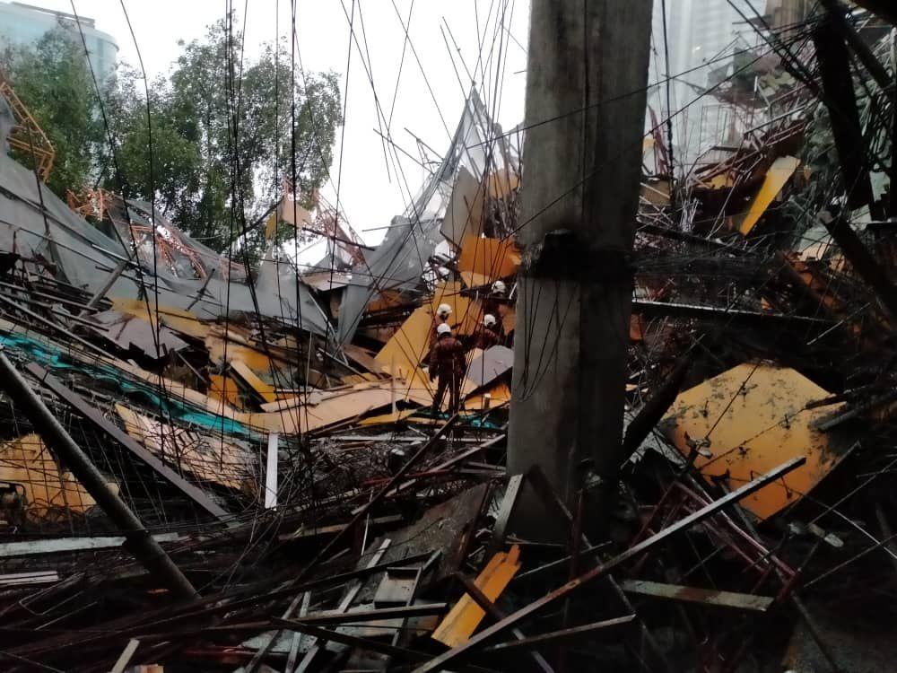 Taman Desa condo developer confirms slab collapse, says cause under investigation