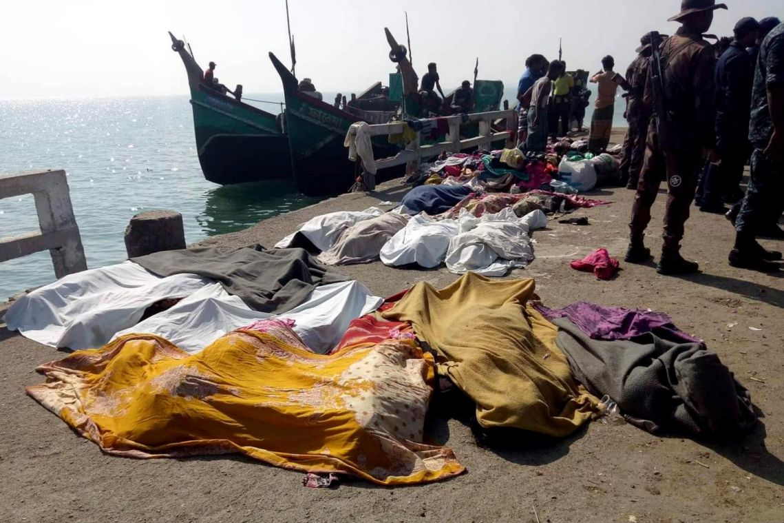 Rohingya boat capsize adds to already long list of tragedies: Daily Star