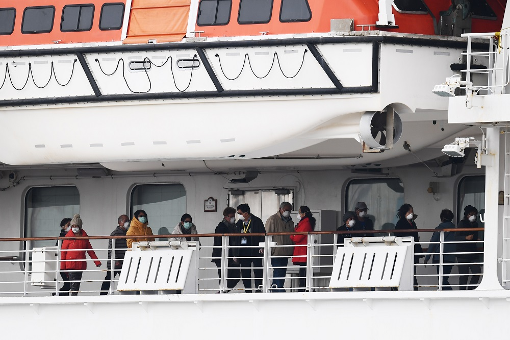 British passenger of virus-hit Japan ship dies