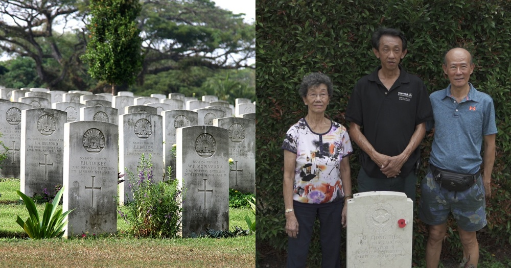 S'pore family who took care of Kranji War Cemetery shares what life is like among the dead