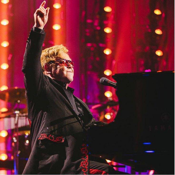 Elton John donates $1 million to HIV/Aids charity