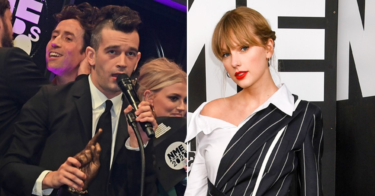 The 1975's Matt Healy reveals he bottled asking Taylor Swift for a collab at the NME Awards