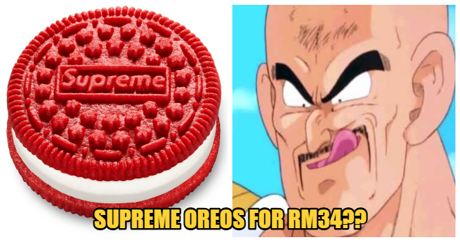 Supreme Is Collaborating with Oreos For The Ultimate Branded Cookie & Prices Start At RM34!