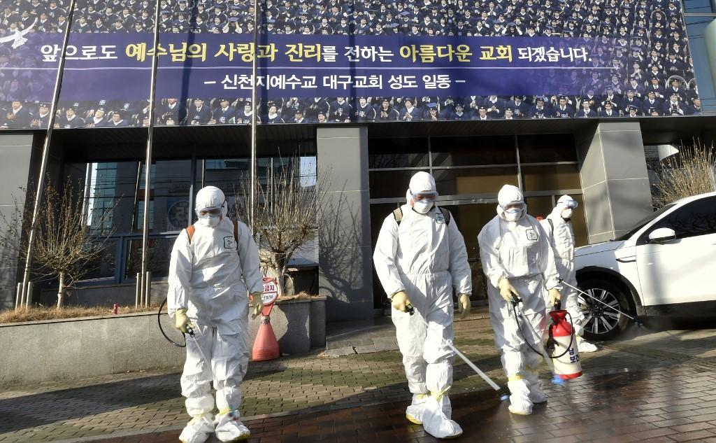 【冠状病毒19】韩国新增586起病例 死亡病例达18起