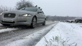 Snow and ice warnings in place across Scotland