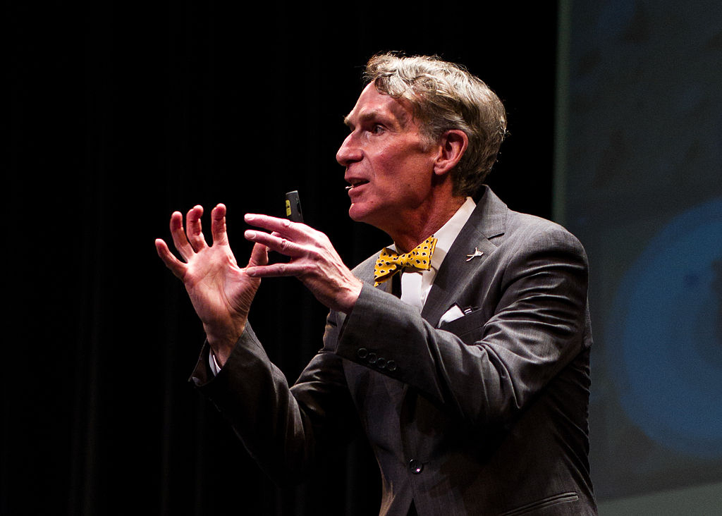 'Humans are descended from ancient life on Mars,' says well-known TV personalty Bill Nye