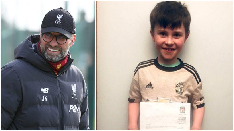 Man Utd fan invited to Old Trafford after Klopp letter