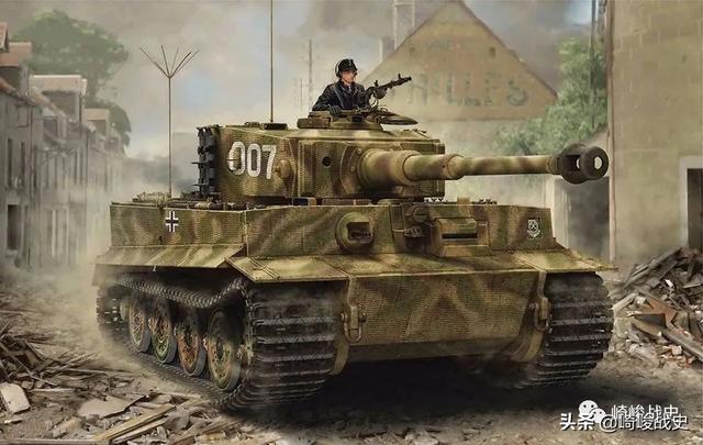 虎式坦克主炮备弹92发,你可知有几种炮弹?配比多少?放在哪里?
