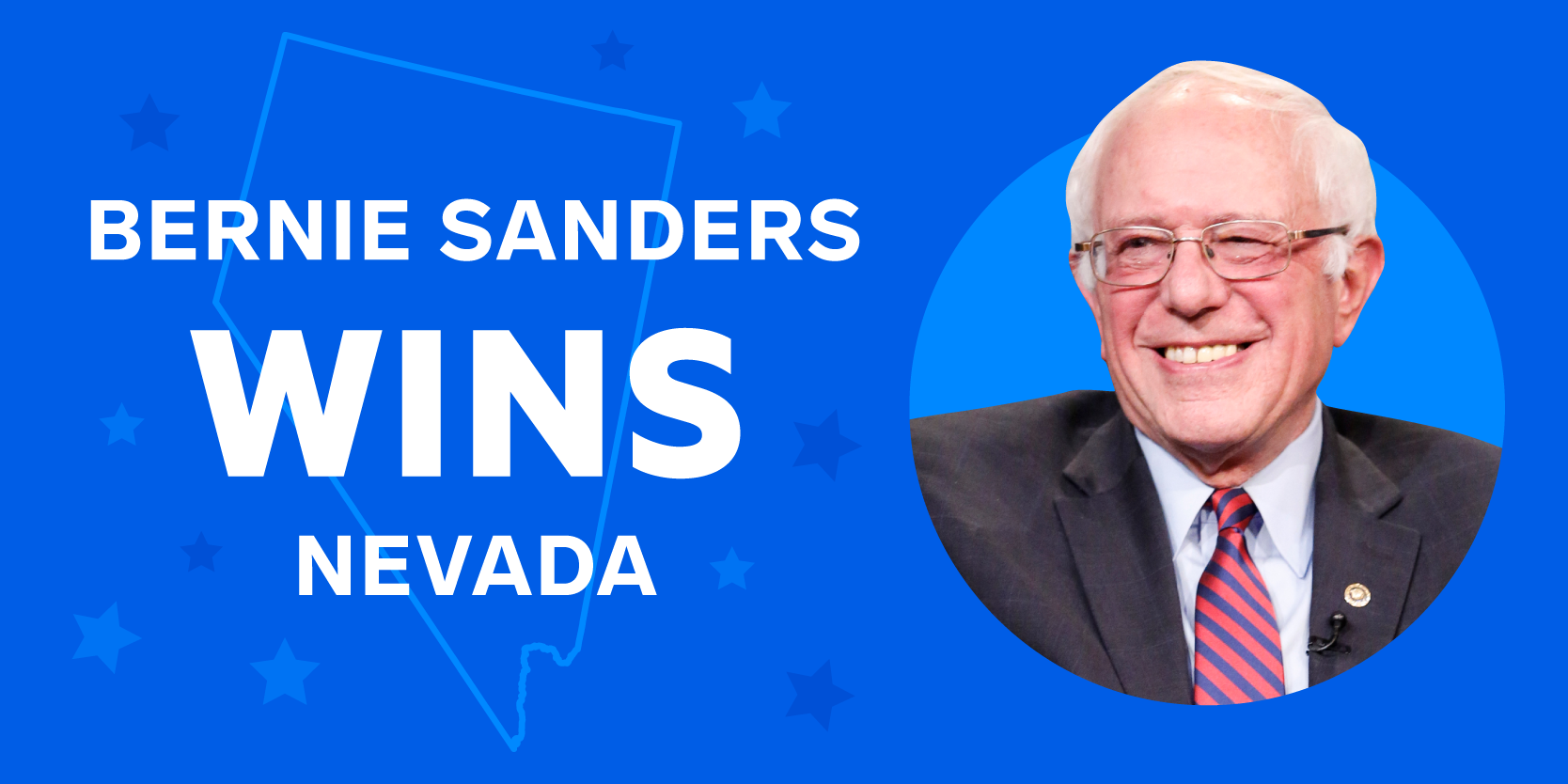 RESULTS: Bernie Sanders wins the Nevada caucus, follow the full vote count and delegate race here