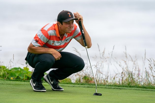 Hovland fires 64 to take 3rd-round lead in Puerto Rico