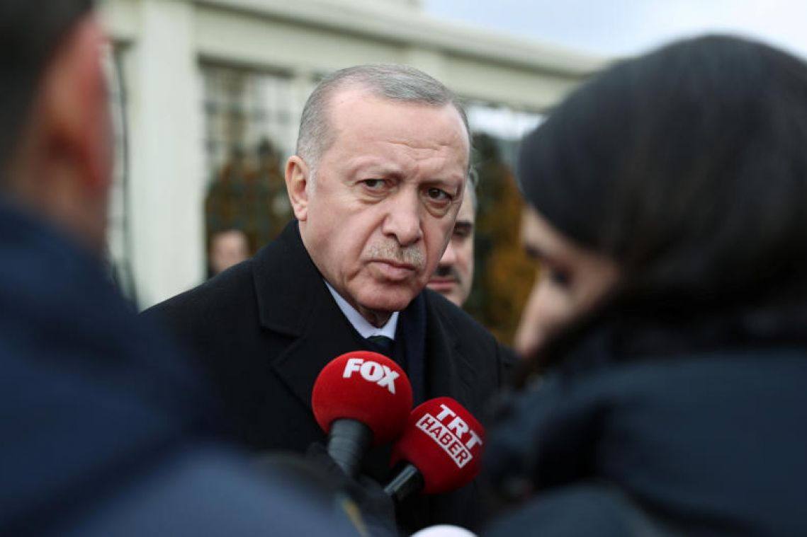 Turkish President Erdogan announces Syria summit for March 5
