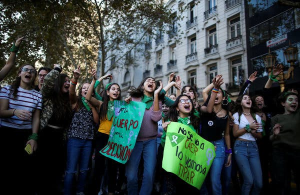New Bid to Legalize Abortion in Argentina, With President's Backing