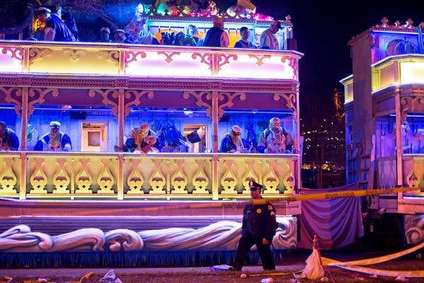 New Orleans Bans 'Tandem Floats' After 2 Are Killed Ahead of Mardi Gras