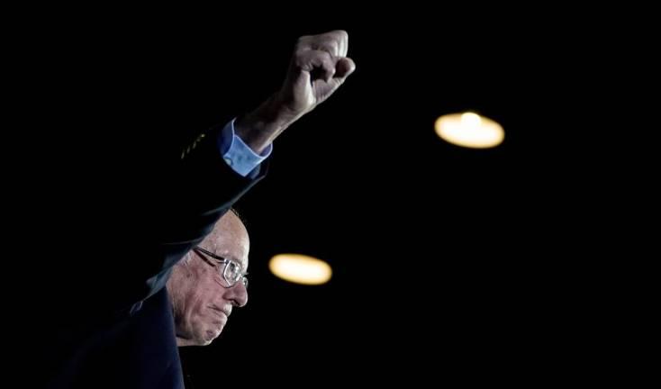Sanders wins big in Nevada, stretching lead in Democratic race
