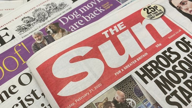 Sun's owner reports £68m loss as paper sales fall