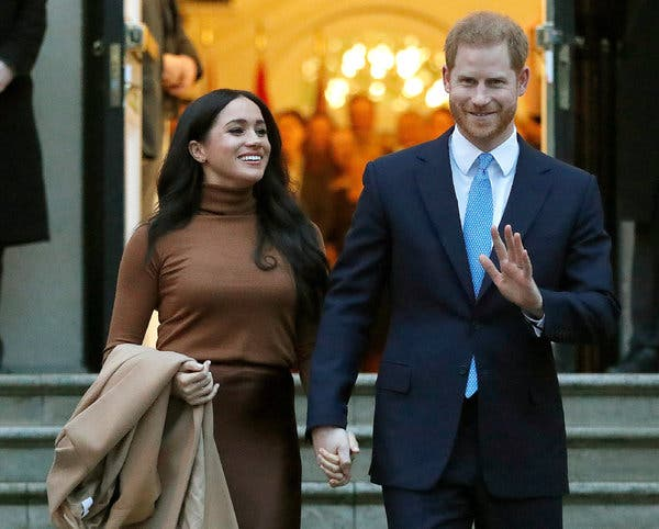 For Harry and Meghan, No More 'Royal' in Their Brand