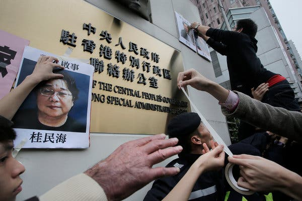 China Sentences Hong Kong Bookseller to 10 Years in Prison