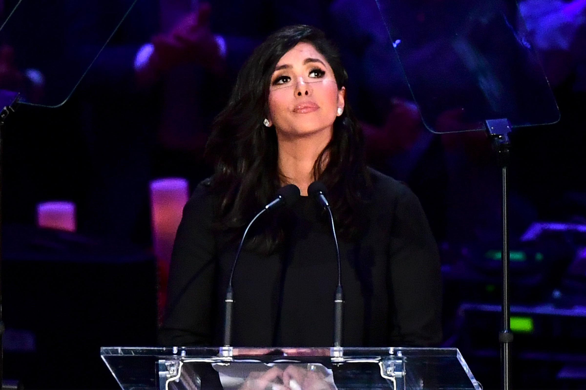 Vanessa Bryant Delivers Heartbreaking Tribute to Kobe and Gianna at Celebration of Life