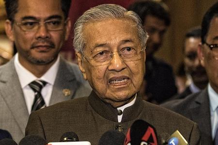 Dr Mahathir resigns as Malaysian PM