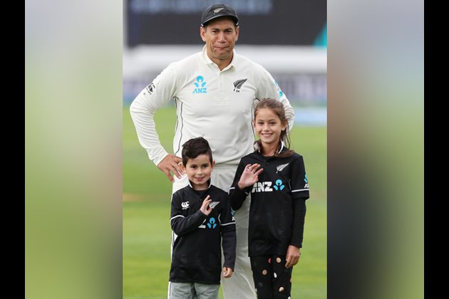 Thank you for the support: Ross Taylor after playing 100 Test matches