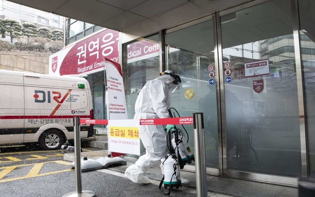 Over 760 COVID-19 cases registered in South Korea, seven deaths reported