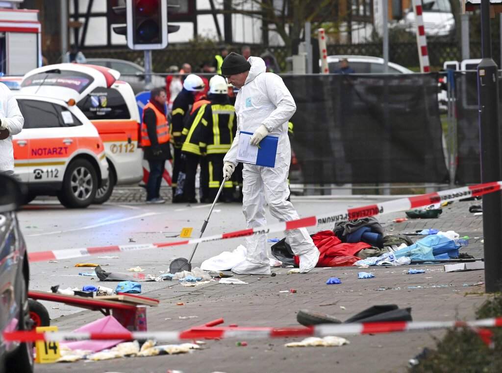 18 children among 52 injured in German carnival attack