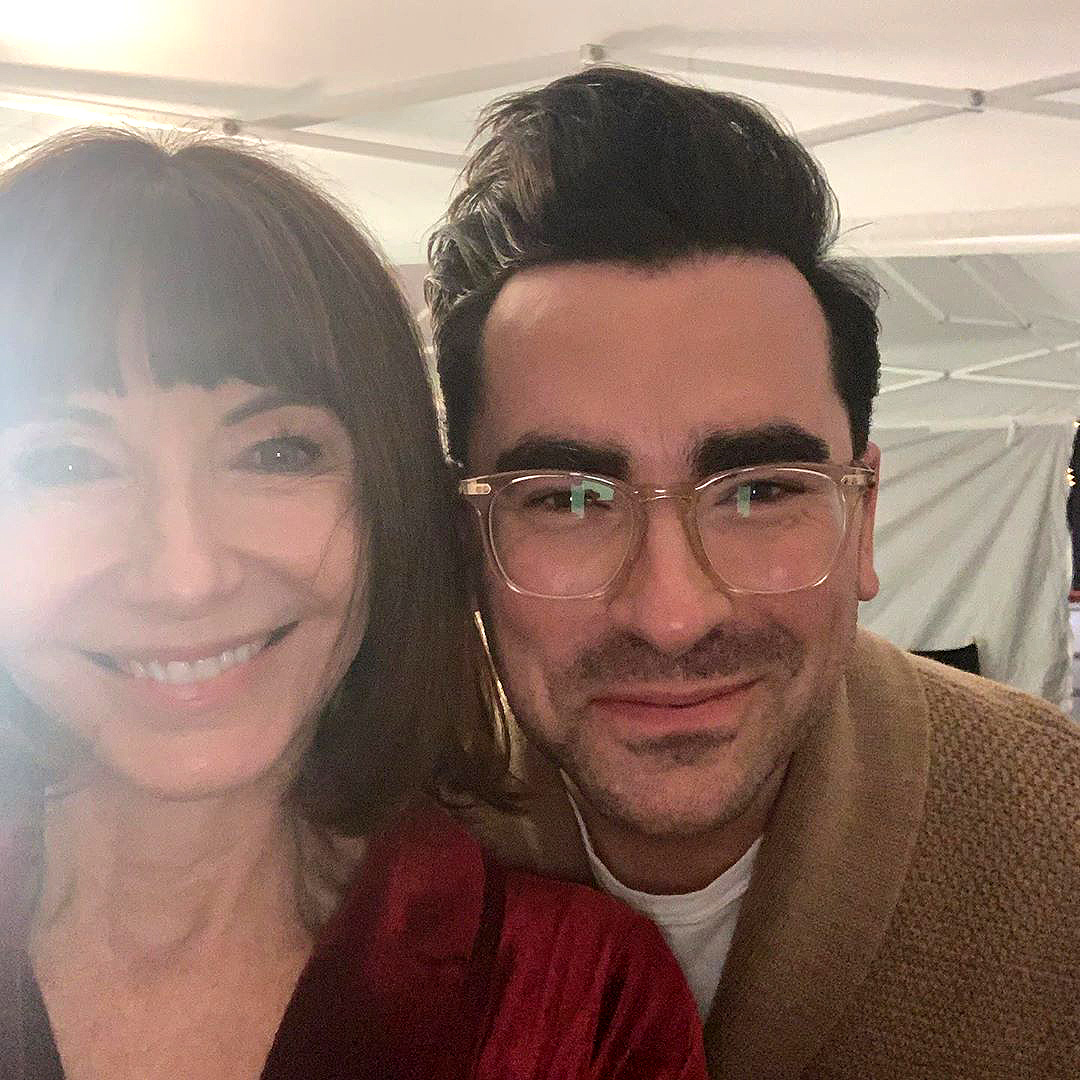 Mary Steenburgen Fangirls Over Dan Levy as Her Son Wishes She Cared About Her 'Real Family'