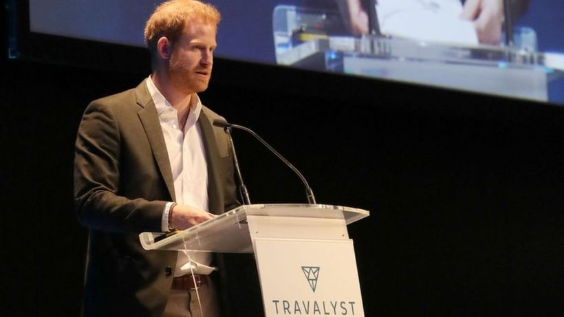 'Just call me Harry' prince tells tourism conference in Edinburgh