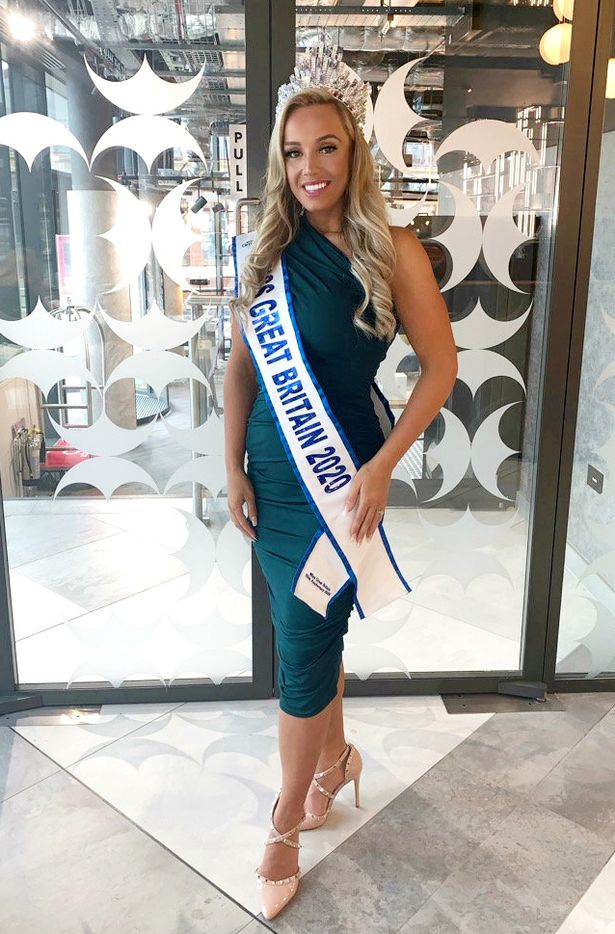 Bride dumped for being 'too fat' gets ultimate revenge winning Miss Great Britain