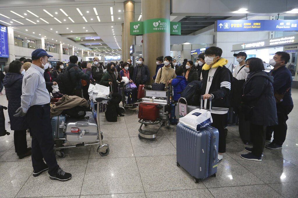 Honeymoon from hell: S. Koreans isolated over virus fears, travel bans