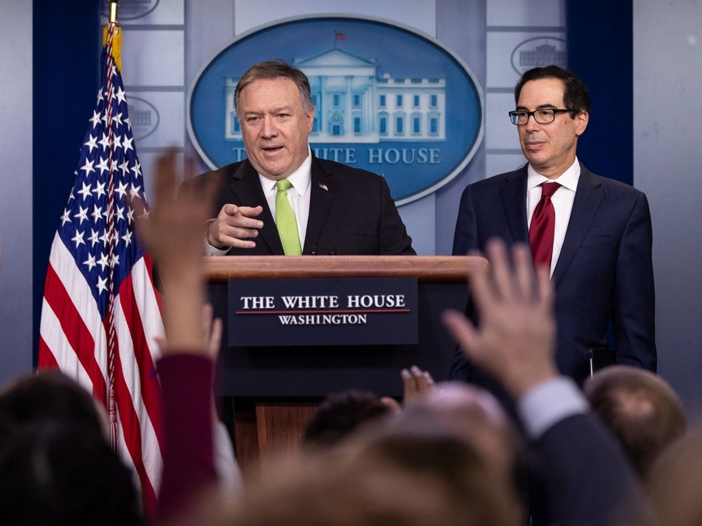 美国务卿:中伊两国实现新闻自由有助于遏制疫情