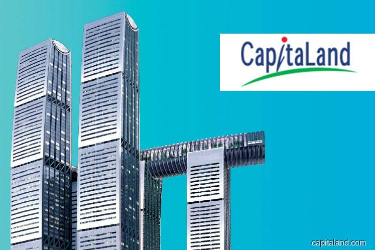 CapitaLand top brass to take pay cut even as FY2019 earnings up by 2.2%