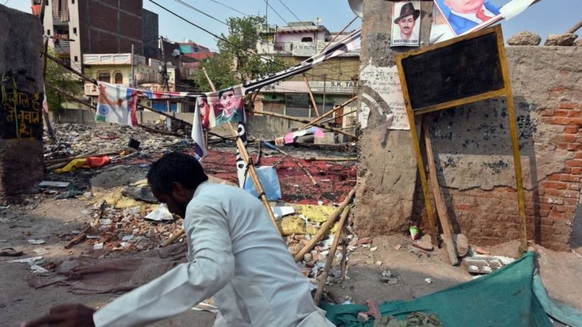 Delhi riots: Anger as judge critical of violence removed