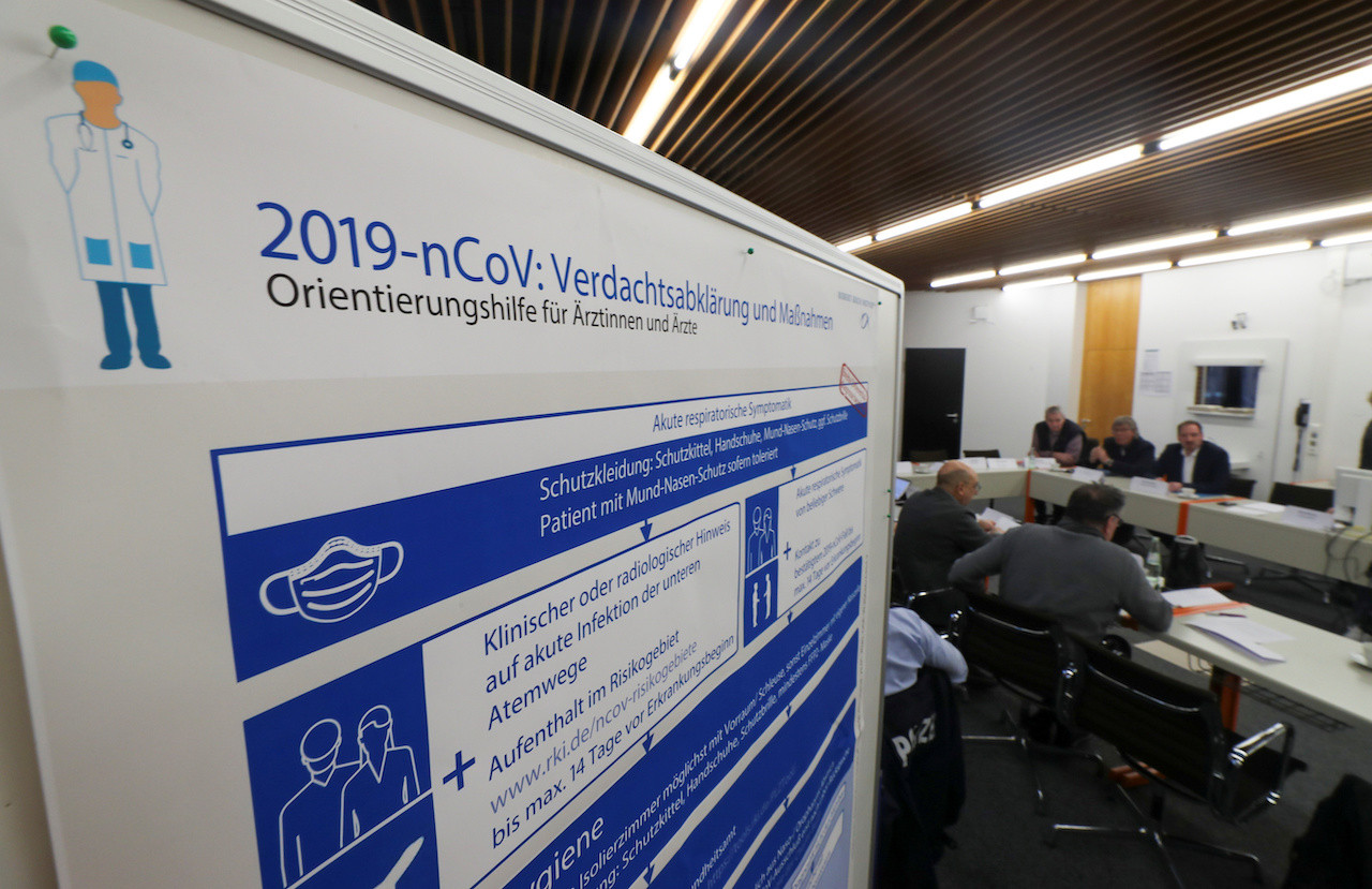 German states report total of 20 new coronavirus cases