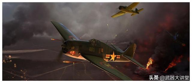 原创 二战日本零式战斗机的噩梦,美军战损比仅1:13的F6F地狱猫战斗机